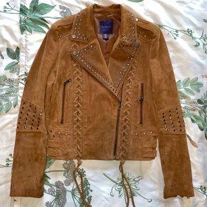 Amaryllis Genuine Suede Jacket